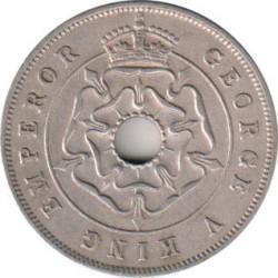 Monēta > 1pens, 1934-1936 - Dienvidrodēzija  - obverse