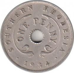 Monēta > 1pens, 1934-1936 - Dienvidrodēzija  - reverse