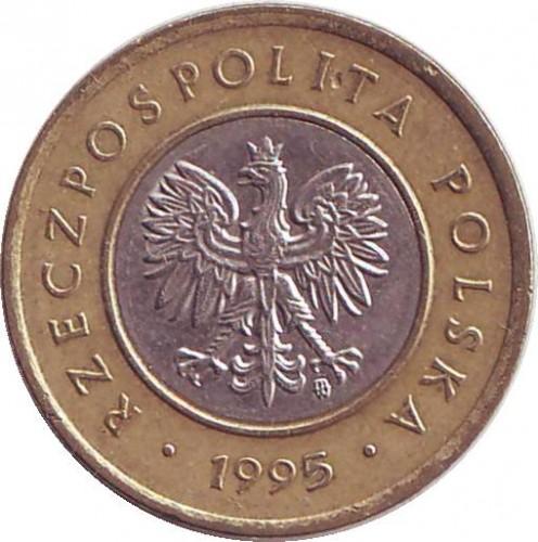 2 Złote 1994 2018 Polen Münzen Wert Ucoinnet