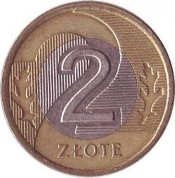 Монета > 2злотых, 1994-2018 - Польша  - reverse