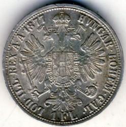 Münze > 1Florin, 1872-1892 - Österreich   - reverse