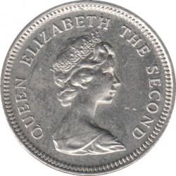 سکه > 5پنس, 1998-1999 - جزایر فالکلند  - obverse