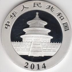 Moneta > 10yuan, 2014 - Cina  (Panda) - reverse