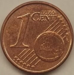 Moneta > 1centesimodieuro, 2014-2018 - Belgio  - reverse