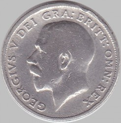 Minca > 6pence, 1921-1926 - Veľká Británia  - obverse
