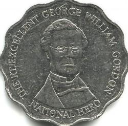 Pièce > 10dollars, 1999-2005 - Jamaïque  - reverse