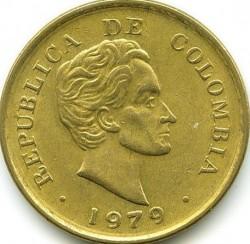 Pièce > 25centavos, 1979-1980 - Colombie  - obverse