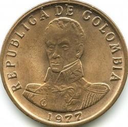 Moneta > 2pesos, 1977-1988 - Colombia  - obverse