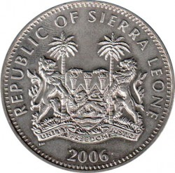 Moneta > 1dollaro, 2006 - Sierra Leone  (Animali - Impala) - obverse