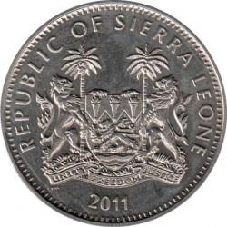 Νόμισμα > 1Δολάριο, 2011 - Σιέρρα Λεόνε  (Monkey - Mountain Gorilla) - obverse