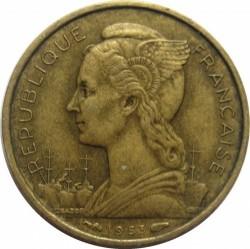 Кованица > 10франака, 1953 - Мадагаскар  - obverse