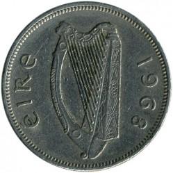 Pièce > 2shillings(florin), 1968 - Irlande  - obverse