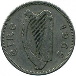 Pièce > 2shillings(florin), 1965 - Irlande  - obverse