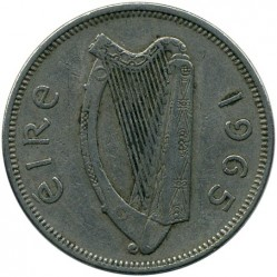 Pièce > 2shillings(florin), 1965 - Irlande  - reverse