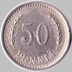 Münze > 50Penny, 1921 - Finnland  - reverse