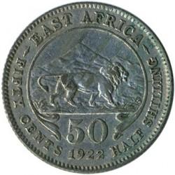 Moneta > 50centesimi, 1921-1924 - Africa Orientale Britannica  - reverse