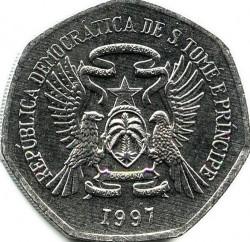 Moneta > 2000dobras, 1997 - São Tomé e Príncipe  - obverse