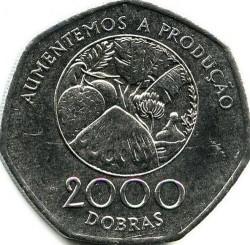 Moneta > 2000dobras, 1997 - São Tomé e Príncipe  - reverse
