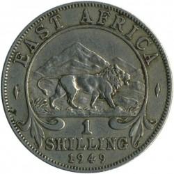 سکه > 1شیلینگ, 1948-1952 - آفریقای شرقی بریتانیا  - reverse
