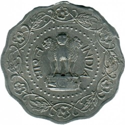 Coin > 10 paise, 1971-1978 - India  - reverse