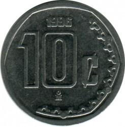 Moneta > 10centavos, 1996 - Messico  - obverse