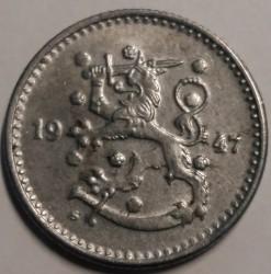 Münze > 1Mark, 1947 - Finnland  - obverse