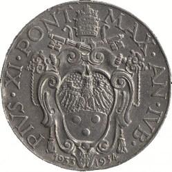 Монета > 2лири, 1933 - Ватикан  - obverse