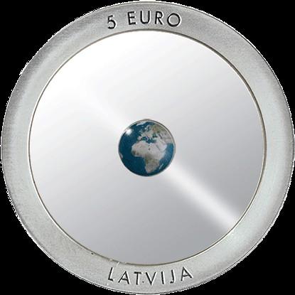 5 Euro 2016 Earth Lettland Münzen Wert Ucoinnet