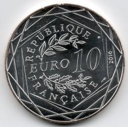 Coin > 10euro, 2016 - France  (Racing Car) - obverse