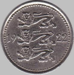 Munt > 5marka, 1922 - Estonië  - obverse