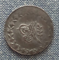 Munt > 20para, 1839 - Ottomaanse Rijk  (Silver /gray color/) - reverse