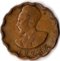 Кованица > 25центи, 1944 - Етиопија  (Scalloped) - obverse