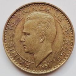 Monedă > 10franci, 1950-1951 - Monaco  - obverse