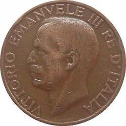 Moneta > 10čentezimų, 1919-1937 - Italija  - obverse