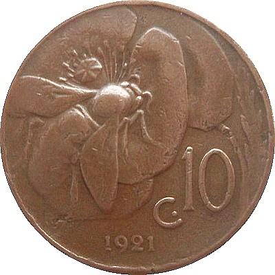 10 Centesimi 1919 1937 Italien Münzen Wert Ucoinnet