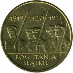 Moneda > 2zlote, 2011 - Polonia  (Revuelta de Silesia) - obverse