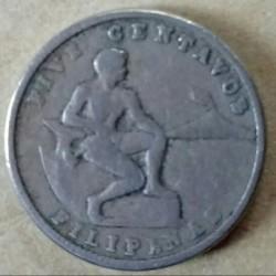 سکه > 5سنتاوو, 1937-1941 - فیلیپین  - obverse