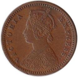 Монета > 1/12анна, 1877-1901 - Индия - Британска  - obverse