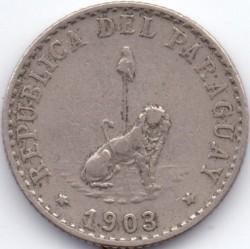 Монета > 20сентаво, 1900-1903 - Парагвай  - obverse