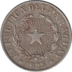 Moneda > 50centavos, 1925 - Paraguay  - obverse