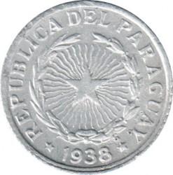 Moneta > 50sentavų, 1938 - Paragvajus  - obverse