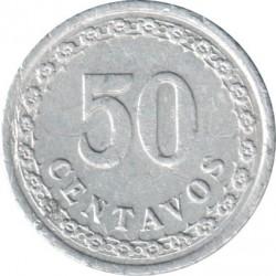 Moneta > 50sentavų, 1938 - Paragvajus  - reverse