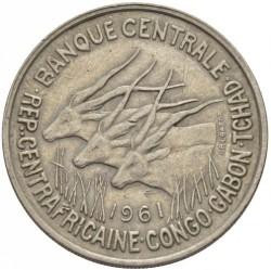 Кованица > 50франака, 1961-1963 - Екваторијалне Афричке Државе  - obverse