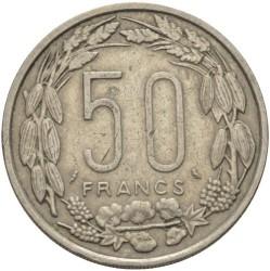 Кованица > 50франака, 1961-1963 - Екваторијалне Афричке Државе  - reverse