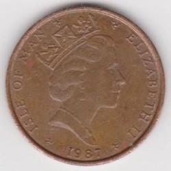 Moneta > 1penny, 1985-1987 - Isola di Man  - obverse