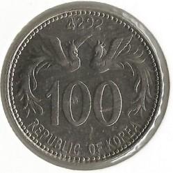 Coin > 100hwan, 1959 - South Korea  - reverse