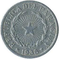 Moneta > 1pesas, 1938 - Paragvajus  - obverse
