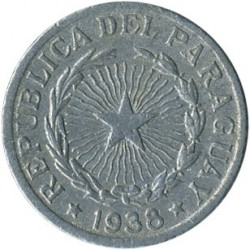 Moneta > 1pesas, 1938 - Paragvajus  - reverse