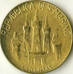 العملة > 20ليرة, 1984 - سان مارينو  (Scientists) - obverse