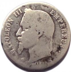 Moneta > 50centymów, 1864-1869 - Francja  - obverse